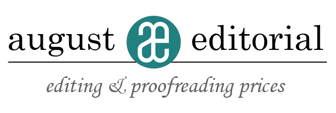 Copy editing prices